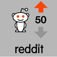 50 reddit upvotes